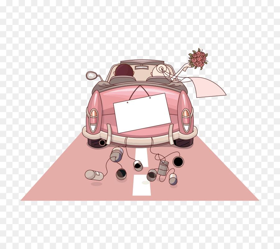 Wedding invitation Bride Cartoon Illustration  marry