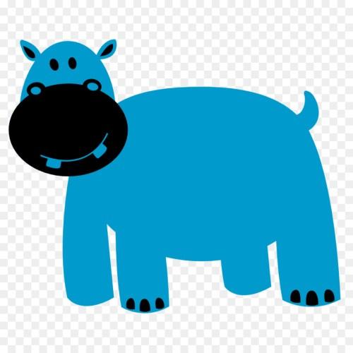 small resolution of hippopotamus colorful animals animal cattle like mammal animal figure png