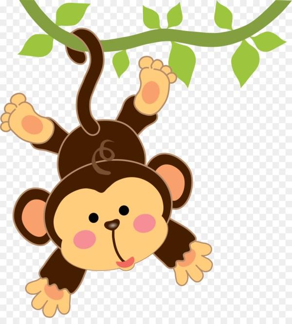 safari monkey cliparts