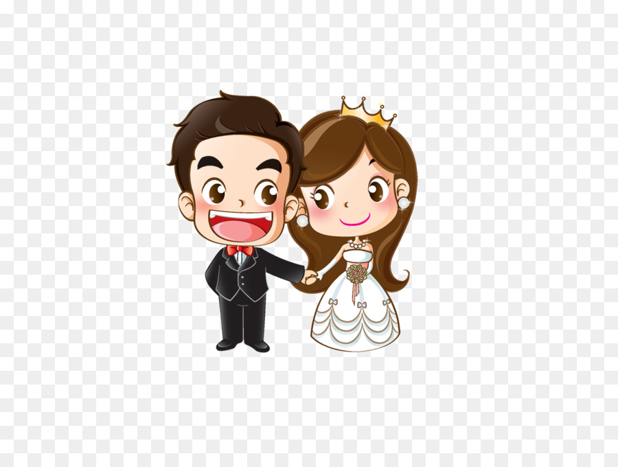 Kartun Wedding Png