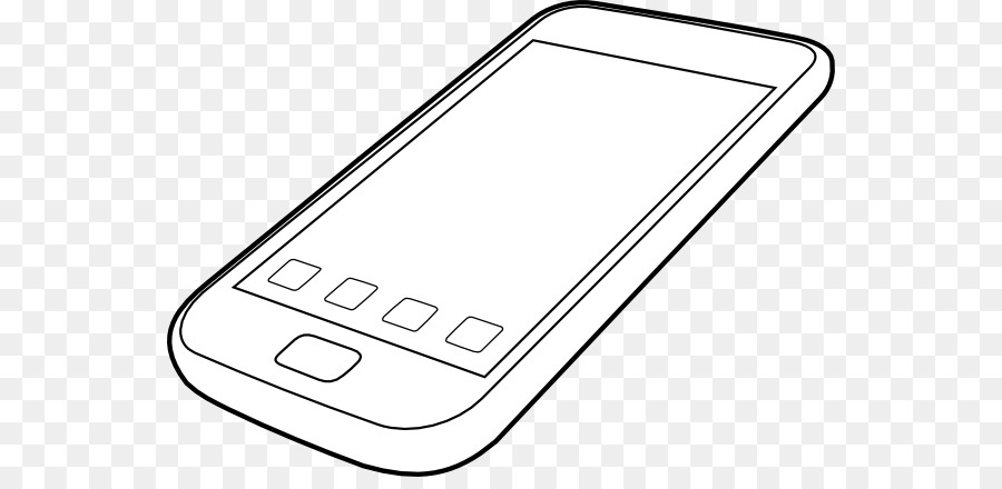 Libro para colorear de Teléfono de Dibujo Smartphone Clip