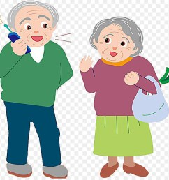 grandparent grandfather free content clip art the old man is on the phone png download 900 872 free transparent png download  [ 900 x 880 Pixel ]