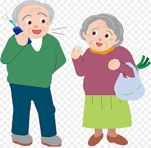 small resolution of grandparent grandfather free content clip art the old man is on the phone png download 900 872 free transparent png download