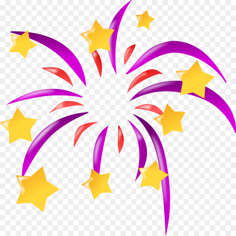 hight resolution of fireworks cartoon animation plant flora png