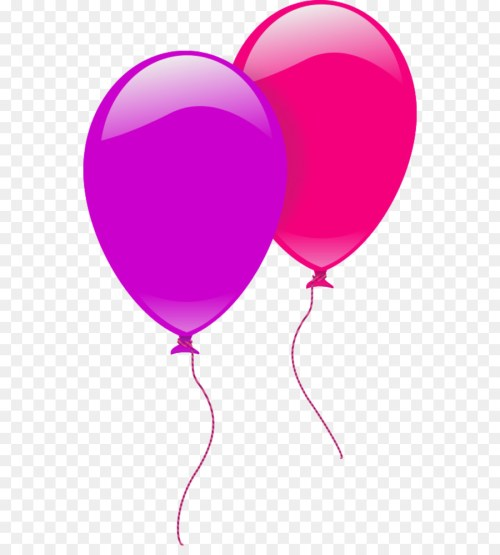 small resolution of balloon birthday party pink heart png