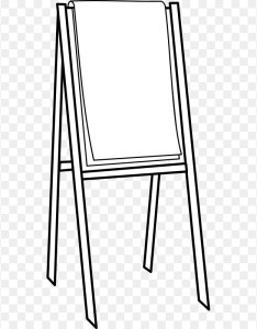 Paper flip chart clip art easel cliparts also download rh kiss