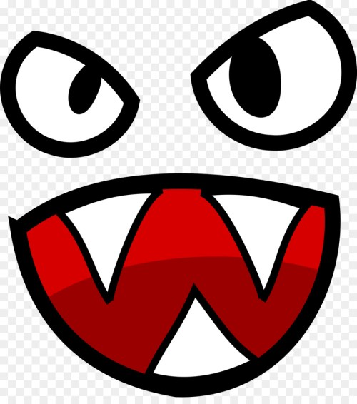 small resolution of tshirt cartoon monster smiley area png