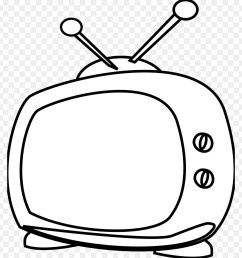 television cartoon black and white line art head png [ 900 x 940 Pixel ]