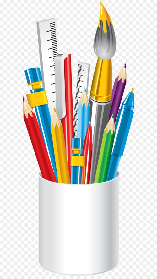 small resolution of school school supplies school timetable pencil plastic png