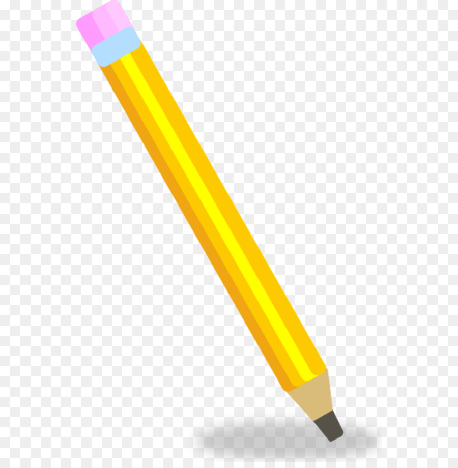 hight resolution of pencil drawing animation angle yellow png