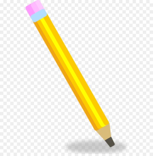 small resolution of pencil drawing animation angle yellow png