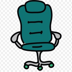 Teal Computer Chair Foldable Chairs Target Office Desk Animation Cartoon Png