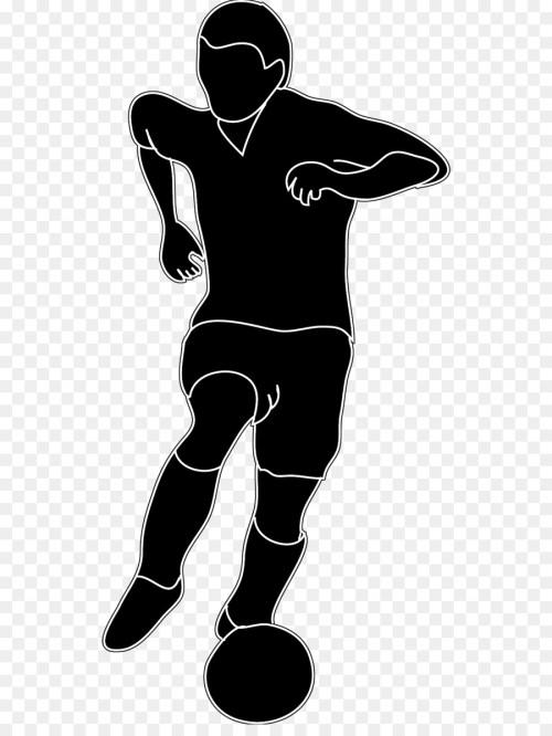 small resolution of football futsal football player standing art png