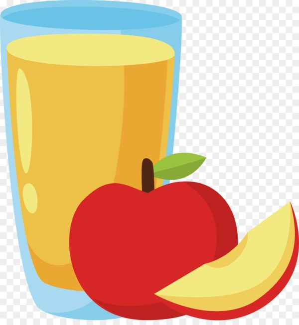 Apple Juice Clip Art - Illustration Design