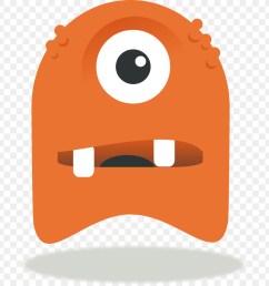 monster cartoon drawing nose headgear png [ 900 x 900 Pixel ]