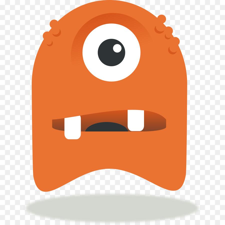 hight resolution of monster cartoon drawing nose headgear png
