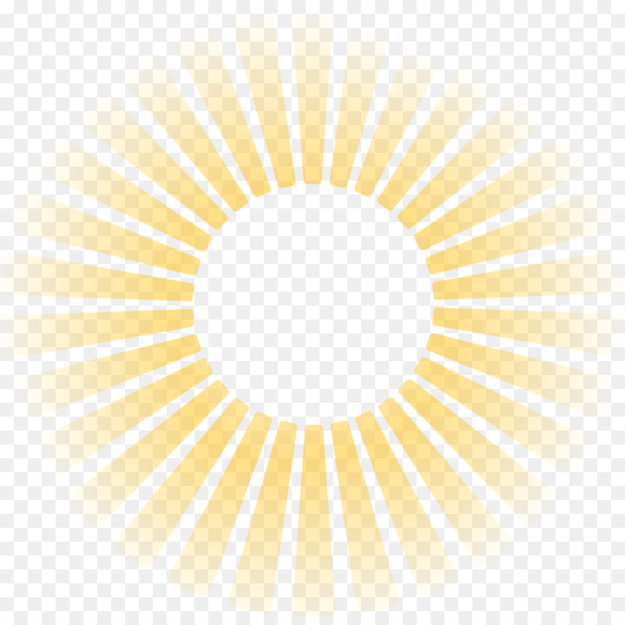 hight resolution of light sunlight ray symmetry yellow png
