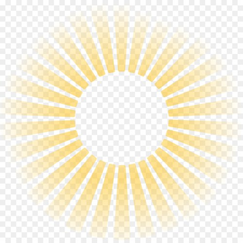 small resolution of light sunlight ray symmetry yellow png