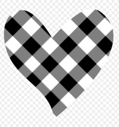 black and white heart white angle png [ 900 x 900 Pixel ]