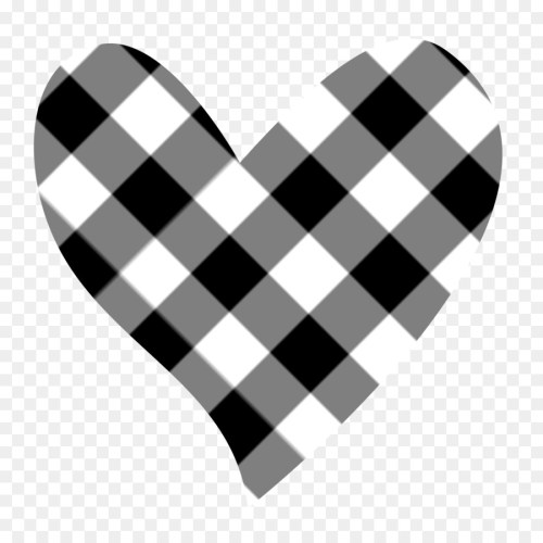 small resolution of black and white heart white angle png