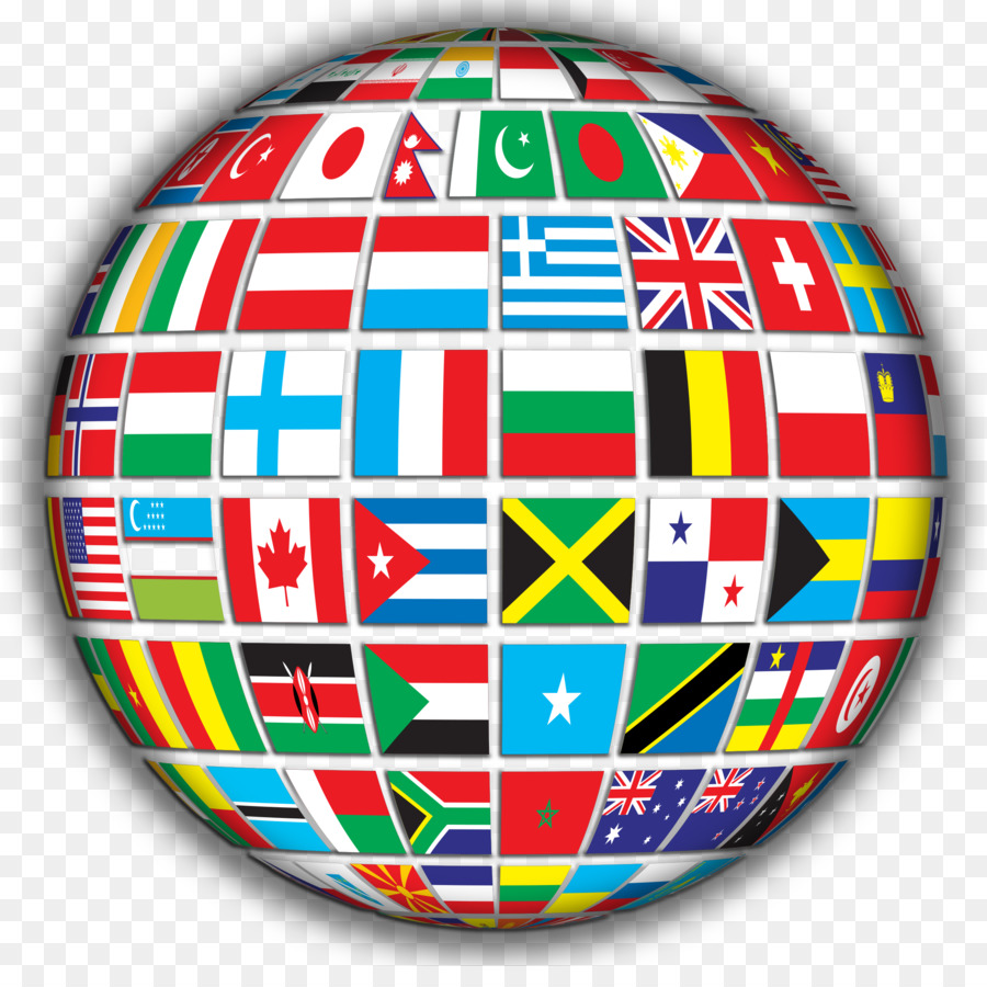 hight resolution of globe world flags of the world ball symmetry png