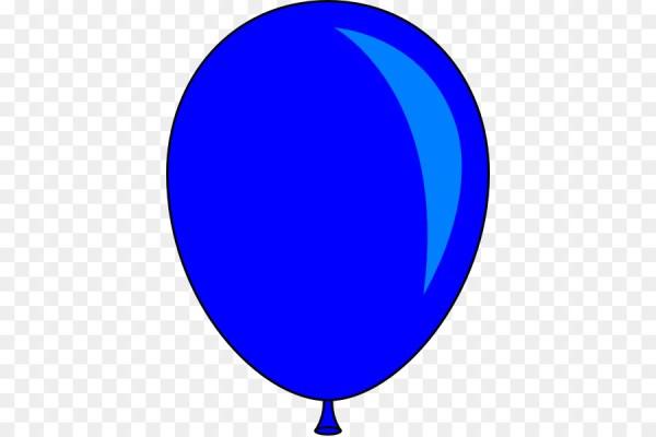 balloon blue clip art