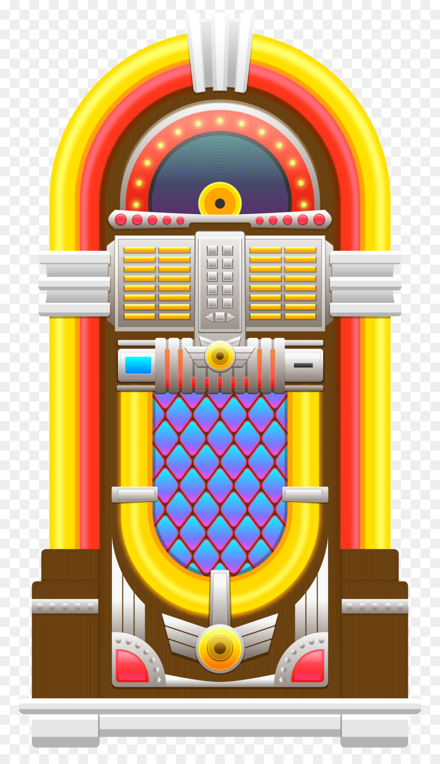 medium resolution of jukebox clothing rock and roll yellow machine png