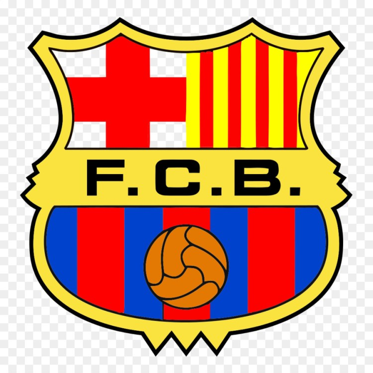 FC Barcelona UEFA Champions League Logo - FCB png download ...