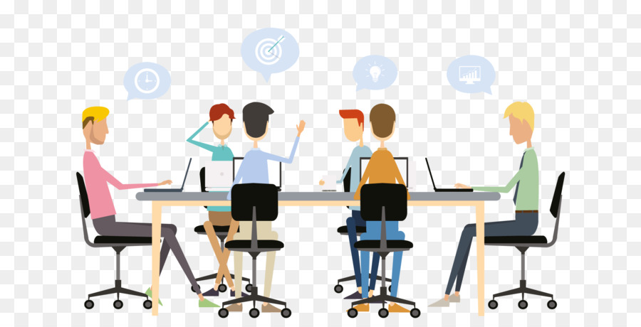 office chair target sturdy dining chairs meeting business minutes teamwork team building - png download 1920*960 free ...