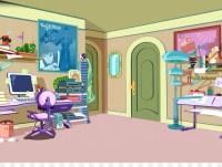 Bedroom Cartoon Living room Animation - room png download ...