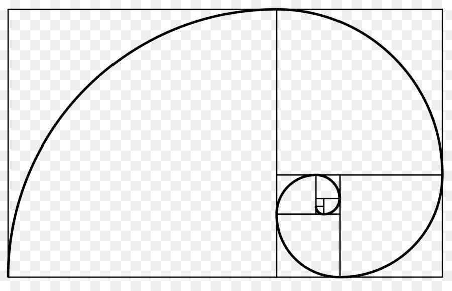Golden spiral Golden ratio Fibonacci number Golden