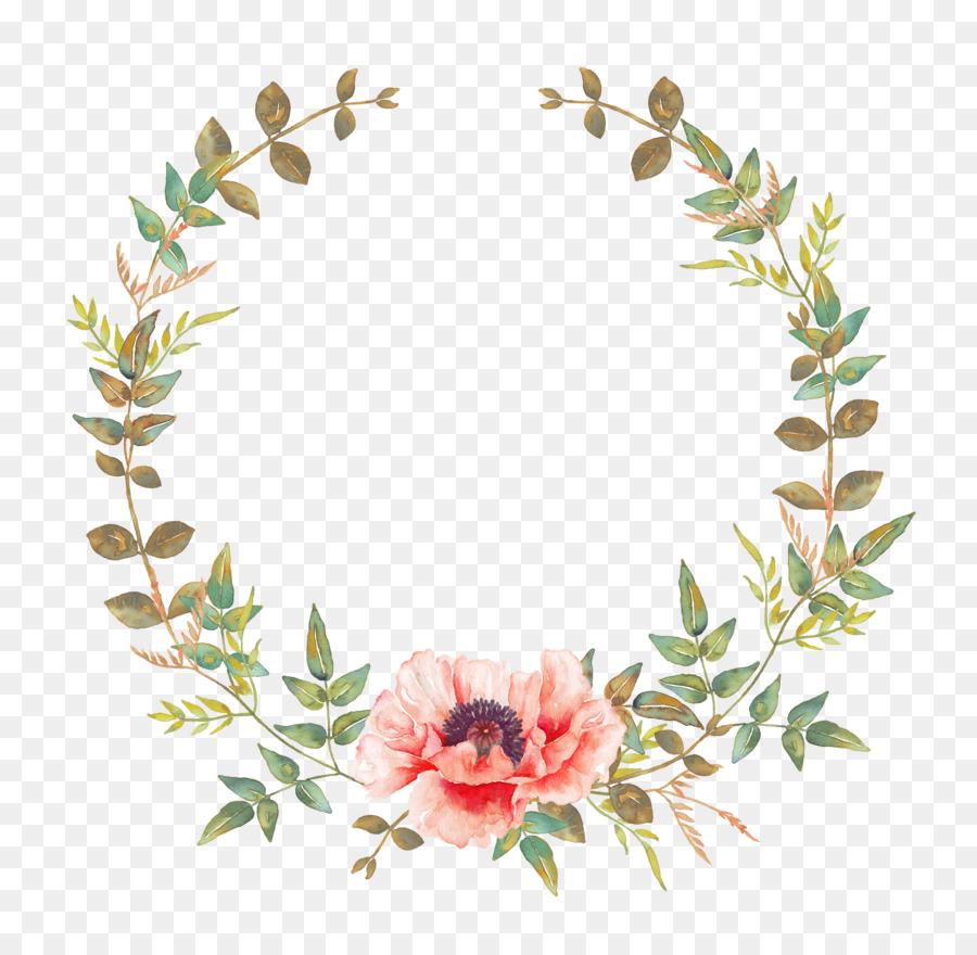 Wedding invitation Flower Convite Wreath Garland  watercolor flower 42634149 transprent Png