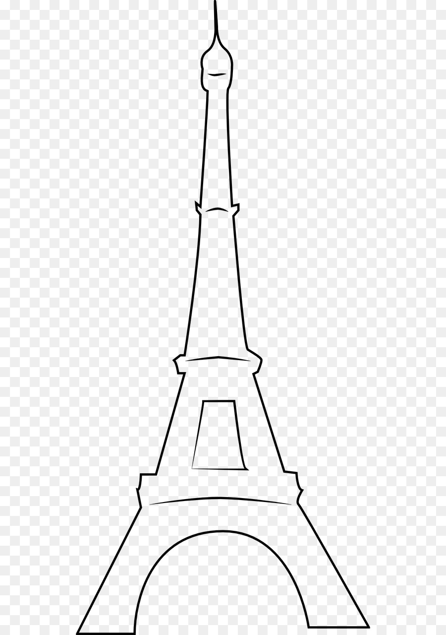 eiffel tower drawing png