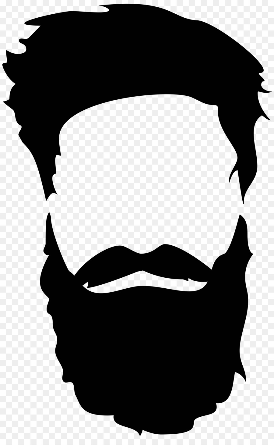 Beard Silhouette Royalty Free Beard And Moustache Png