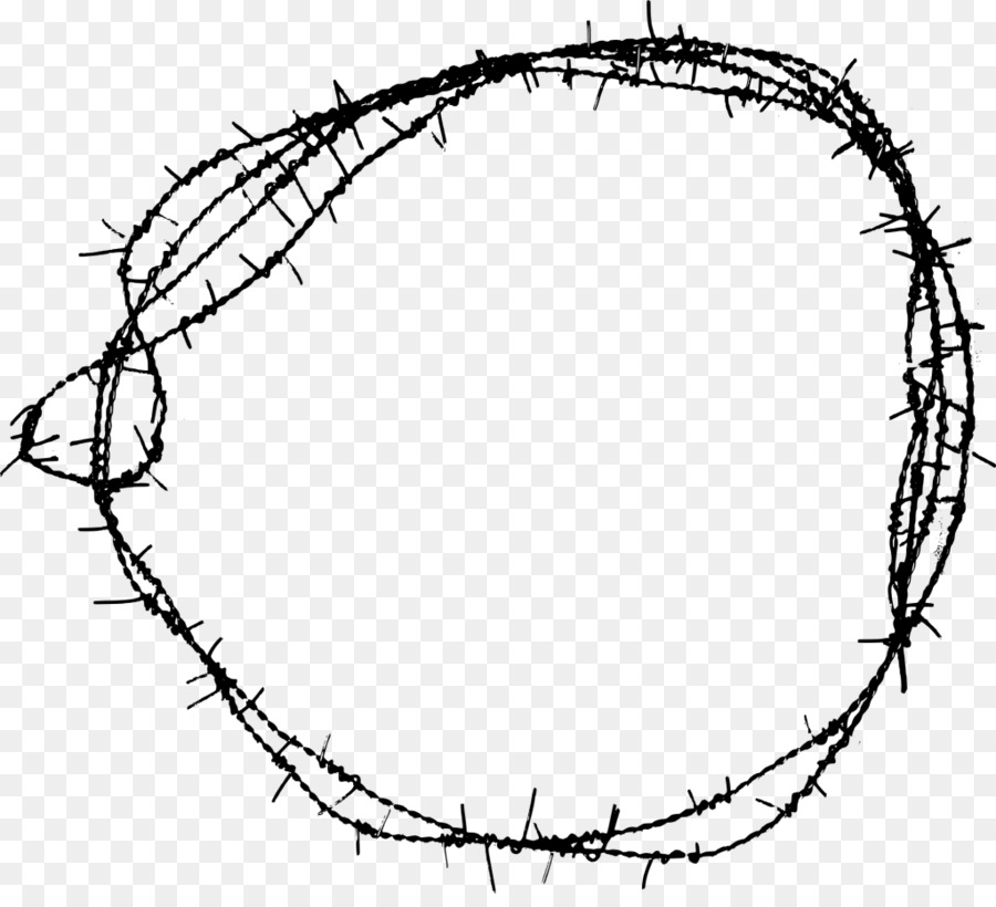 barbed wire fence diagram