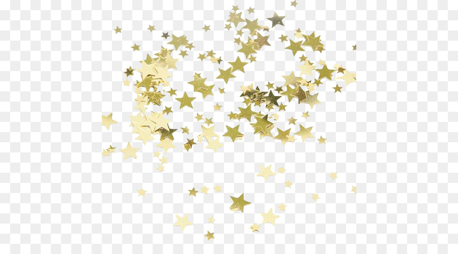 Star Gold Confetti Party Bride  overlay png download  500500  Free Transparent Star png