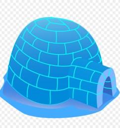igloo cartoon house cap aqua png [ 900 x 900 Pixel ]