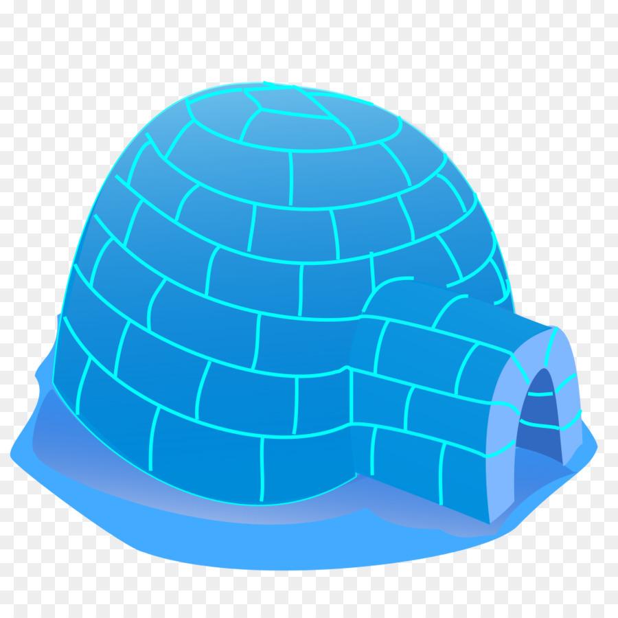 hight resolution of igloo cartoon house cap aqua png
