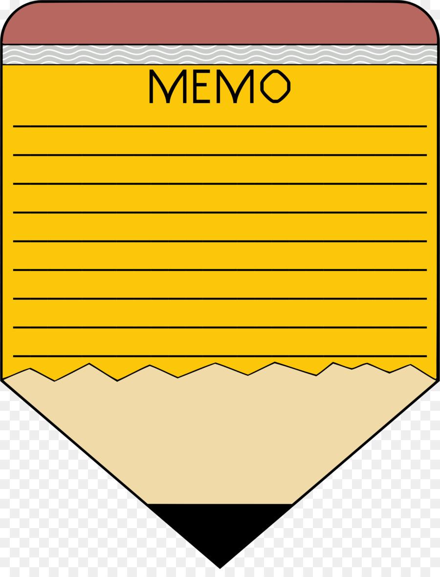 Paper Memorandum Clip Art - Memo