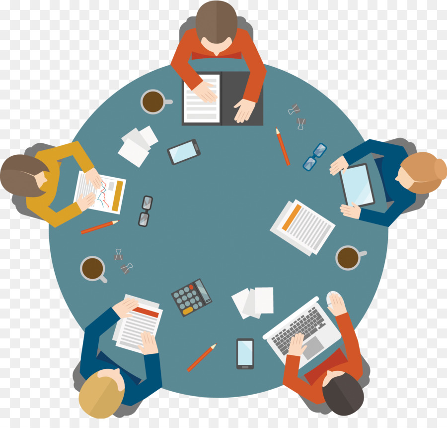 Round table Meeting  Meeting png download  16901579