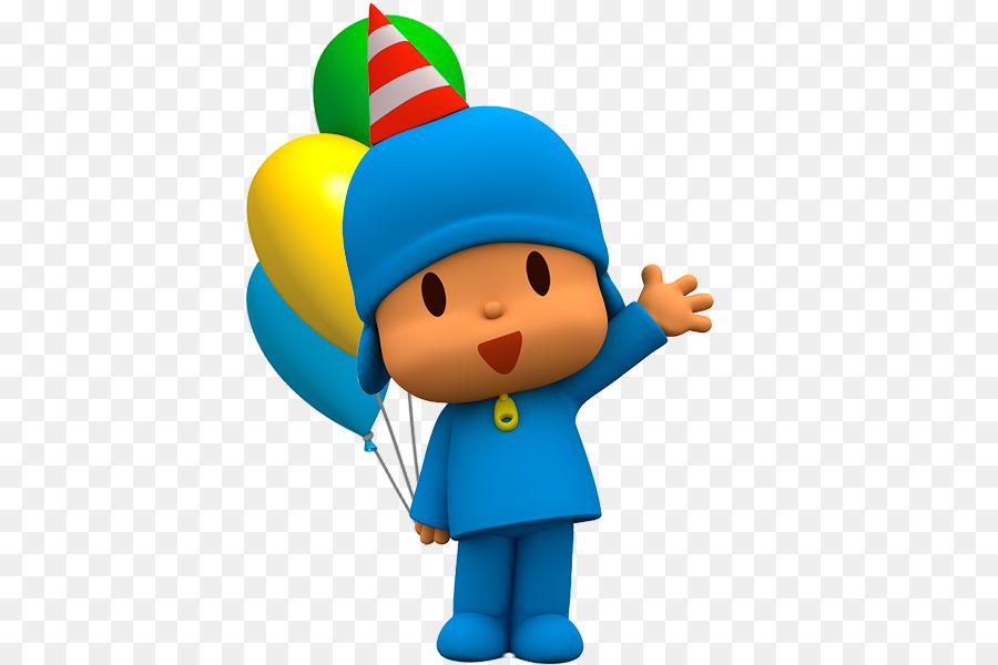 Birthday Party Cartoon  pocoyo 500600 transprent Png