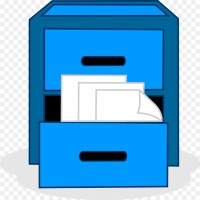 File Cabinets Computer Icons Cabinetry Clip art - cabinet ...