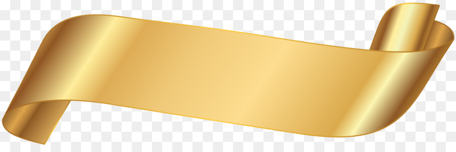 gold ribbon ribbon png