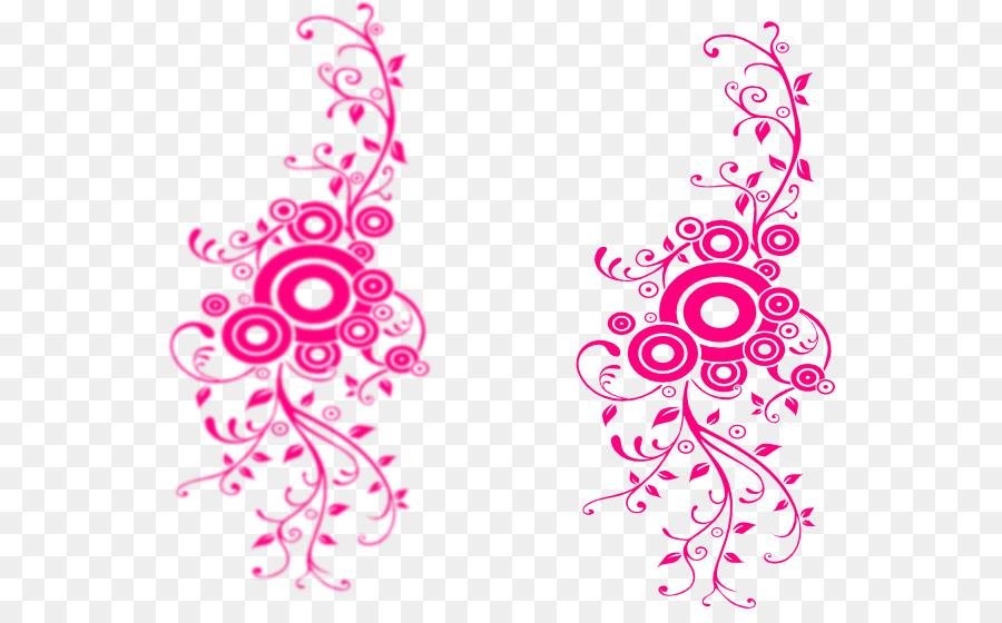 Pink Border Design Png