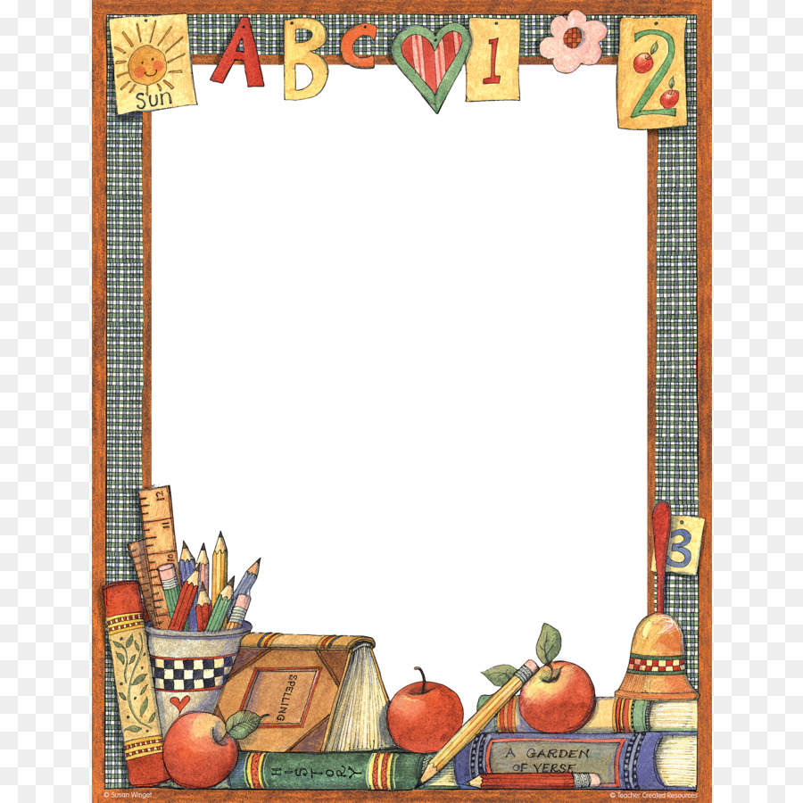 elementary school borders and frames