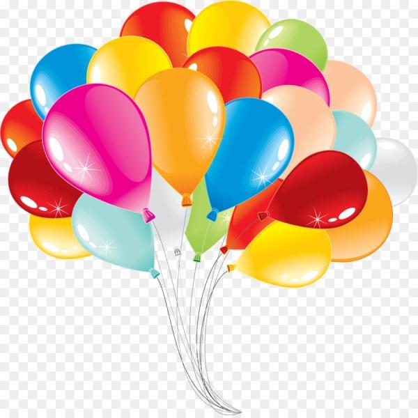 Balloon Stock Birthday Clip Art - Ballons