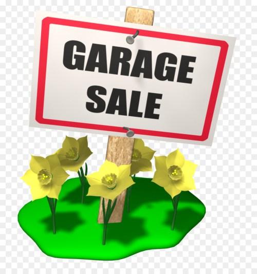 small resolution of garage sale sales flea market flower text png