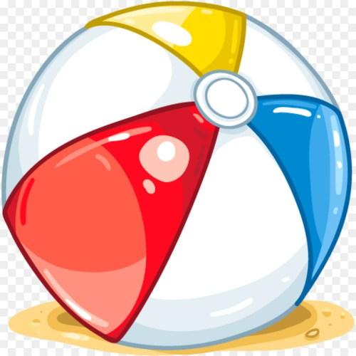 small resolution of cartoon beach ball beach area circle png