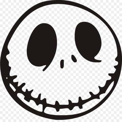 small resolution of jack skellington nightmare before christmas the pumpkin king oogie boogie emoticon line art png