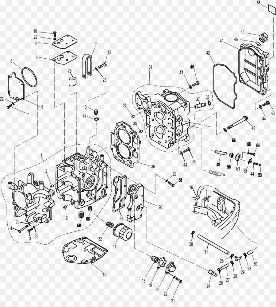 medium resolution of outboard motor yamaha motor company fourstroke engine line art angle png